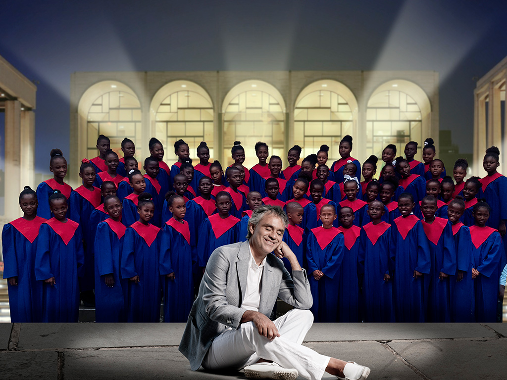 """Voices of Haiti"" in New York: in some of the world's most prestigious forums, the debut of Andrea Bocelli Foundation's choir"