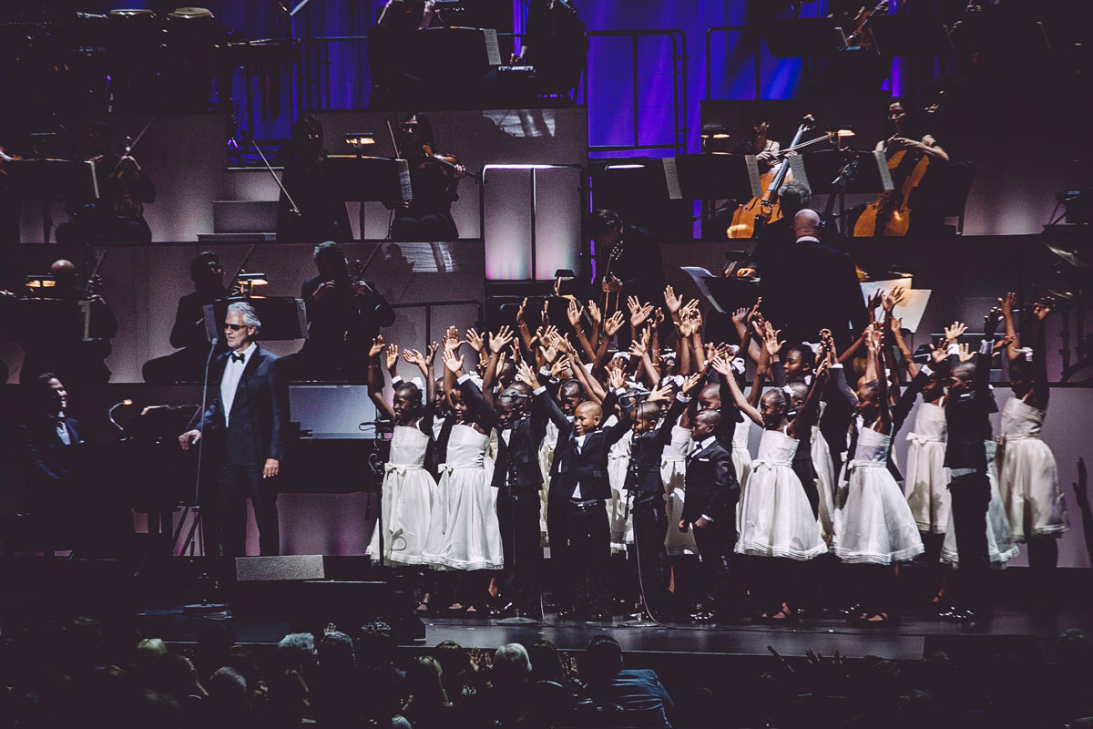 "The ""Voices of Haiti"" will also be featuring in Andrea Bocelli's new album"